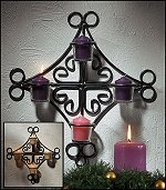 Wall Advent Wreath