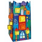 cardboard advent calendar