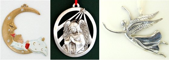 Cast Pewter Ornaments