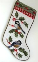Chickadee Stocking