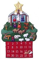 Nativity Advent Calendar  A