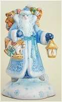 Father Frost in Blue