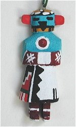 Making Thunder Kachina Ornament