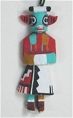Cow Kachina Ornament
