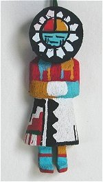 Sun Face Kachina Ornament