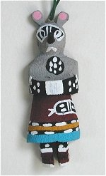 Mouse Kachina Ornament