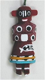 Bear Kachina Ornament