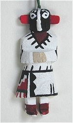 Kokopelli Kachina Ornament