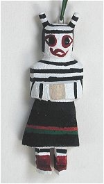Clown Kachina Ornament