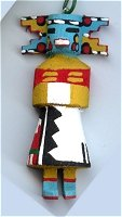 Cloud Kachina Ornament