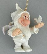 Bashful Christmas Ornament