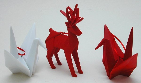 Origami christmas ornaments enjoy the beauty of origami in a for Decoration origami