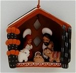 Nativity Christmas Ornament  A