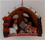 Nativity Christmas Ornament C