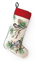Chickadees Stocking
