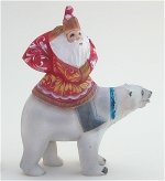Father Frost on Polar Bear
