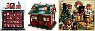 wooden advent calendars. Black Bedroom Furniture Sets. Home Design Ideas